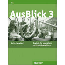 Книга для учителя AusBlick 3 Lehrerhandbuch