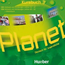 Диски Planet 3 Audio CDs zum Kursbuch