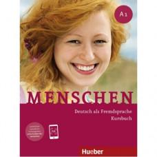 Учебник Menschen A1 Kursbuch mit DVD-ROM