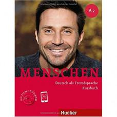 Учебник Menschen A2 Kursbuch mit DVD-ROM
