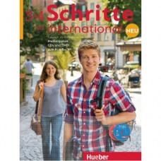 Диски Schritte international Neu 3+4 Medienpaket 6 Audio-CDs und 1 DVD zum Kursbuch