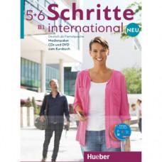 Диски Schritte international Neu 5+6 Medienpaket 6 Audio-CDs und 1 DVD zum Kursbuch