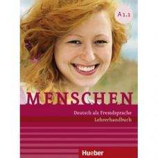 Книга для учителя Menschen A1.1 und A1.2 Lehrerhandbuch Pack