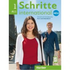 Учебник Schritte international Neu 1 Kursbuch+Arbeitsbuch+CD zum Arbeitsbuch