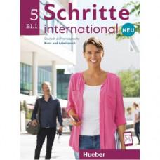 Учебник Schritte international Neu 5 Kursbuch+Arbeitsbuch+CD zum Arbeitsbuch