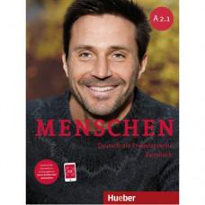 Учебник Menschen A2/1 Kursbuch mit DVD-ROM