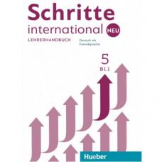 Книга для учителя Schritte international Neu 5 Lehrerhandbuch