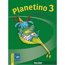 Рабочая тетрадь Planetino 3 Arbeitsbuch
