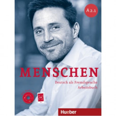 Рабочая тетрадь Menschen A2/1 Arbeitsbuch mit Audio-CD