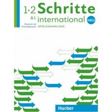 Учебник Schritte international Neu 1+2 Spielesammlung