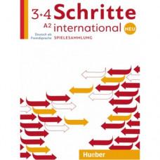 Учебник Schritte international Neu 3+4 Spielesammlung
