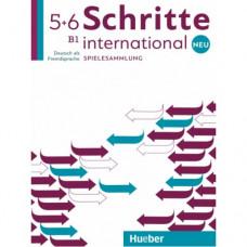 Учебник Schritte international Neu 5+6 Spielesammlung