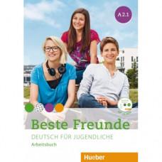 Рабочая тетрадь Beste Freunde A2/1 Arbeitsbuch + CD-ROM