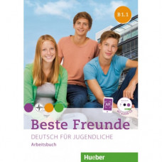 Рабочая тетрадь Beste Freunde B1/1 Arbeitsbuch + CD-ROM