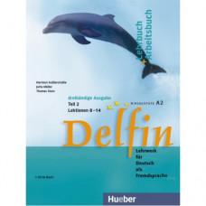 Учебник Delfin Teil 2 Lektionen 8-14 Lehr- & Arbeitsbuch mit Audio-CD
