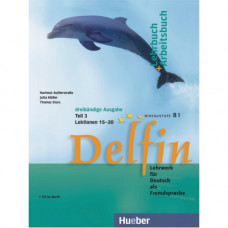 Учебник Delfin Teil 3 Lektionen 15-20 Lehr- & Arbeitsbuch mit Audio-CD
