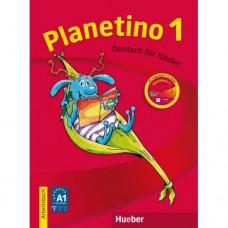 Рабочая тетрадь Planetino 1 Arbeitsbuch mit CD-ROM