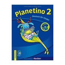 Рабочая тетрадь Planetino 2 Arbeitsbuch mit CD-ROM
