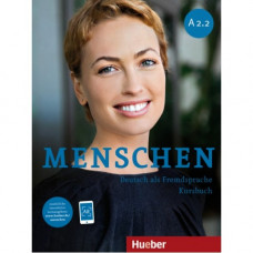 Учебник Menschen A2/2 Kursbuch mit DVD-ROM