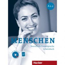 Рабочая тетрадь Menschen A2/2 Arbeitsbuch mit Audio-CD