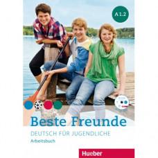 Рабочая тетрадь Beste Freunde A1/2 Arbeitsbuch + CD-ROM