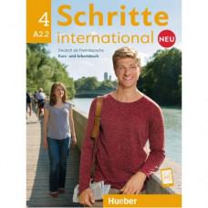 Учебник Schritte international Neu 4 Kursbuch+Arbeitsbuch+CD zum Arbeitsbuch