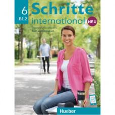 Учебник Schritte international Neu 6 Kursbuch+Arbeitsbuch+CD zum Arbeitsbuch