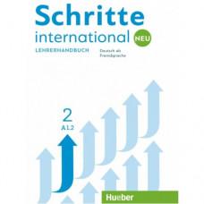 Книга для учителя Schritte international Neu 2 Lehrerhandbuch