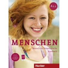 Учебник Menschen A1/1 Kursbuch mit DVD-ROM
