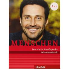 Книга для учителя Menschen A2.1 und A2.2 Lehrerhandbuch Pack