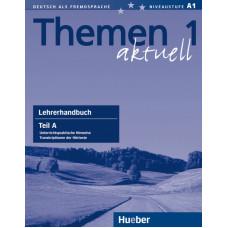 Книга для учителя Themen aktuell 1 Lehrerhandbuch Teil A