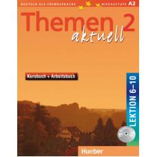 Учебник Themen aktuell 2 Kursbuch + Arbeitsbuch, Lektion 6-10
