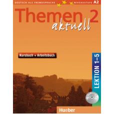 Учебник Themen aktuell 2 Kursbuch + Arbeitsbuch, Lektion 1-5