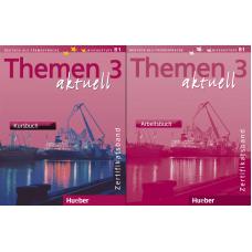 Учебник и рабочая тетрадь Themen aktuell 3 Zertifikatsband Paket (Kursbuch und Arbeitsbuch)