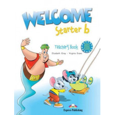 Книга для учителя Welcome Starter b Teacher's Book