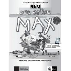 Рабочая тетрадь Der Grüne Max Neu 1 Arbeitsbuch mit Audio-CD