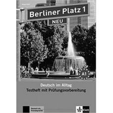 Тесты Berliner Platz 1 NEU Testheft mit Prüfungsvorbereitung 1 + Audio-CD