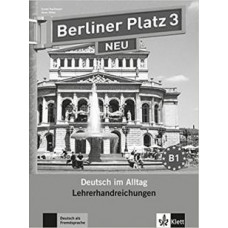 Книга для учителя Berliner Platz 3 NEU Lehrerhandreichungen