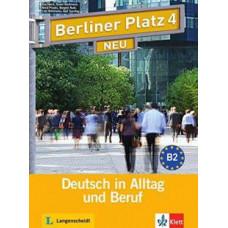 Учебник Berliner Platz 4 NEU Lehr- und Arbeitsbuch + Audio-CD
