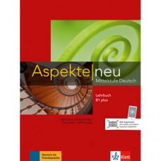 Учебник Aspekte 1 Neu B1+ Lehrbuch ohne DVD