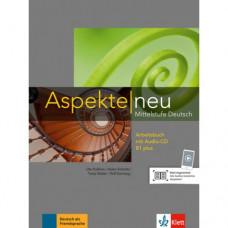 Рабочая тетрадь Aspekte 1 Neu B1+ Arbeitsbuch mit Audio-CD