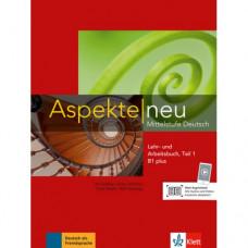Учебник Aspekte 1 Neu B1+ Lehr-und Arbeitsbuch, Teil 1+CD