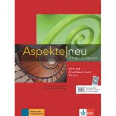 Учебник Aspekte 1 Neu B1+ Lehr-und Arbeitsbuch, Teil 2+CD