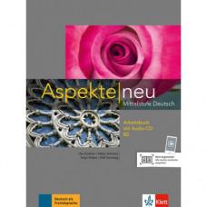 Рабочая тетрадь Aspekte 2 Neu B2 Arbeitsbuch mit Audio-CD