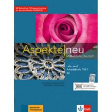 Учебник Aspekte 2 Neu B2 Lehr-und Arbeitsbuch, Teil 1+CD