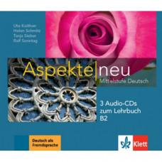 Диски Aspekte 2 Neu B2 Audio-CDs zum Lehrbuch