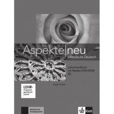 Книга для учителя Aspekte 2 Neu B2 Lehrerhandbuch mit DVD-ROM