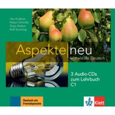 Диски Aspekte 3 Neu C1 Audio-CDs zum Lehrbuch