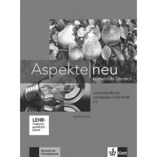 Книга для учителя Aspekte 3 Neu C1 Lehrerhandbuch mit DVD-ROM