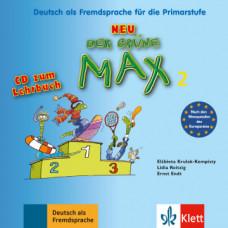 Диск Der Grüne Max Neu 2 Audio-CD zum Lehrbuch